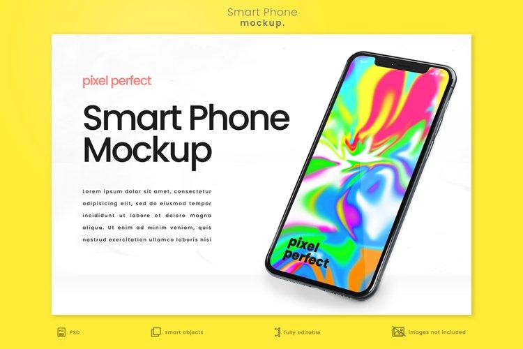 Bright Modern Apple iPhone Mockup 2
