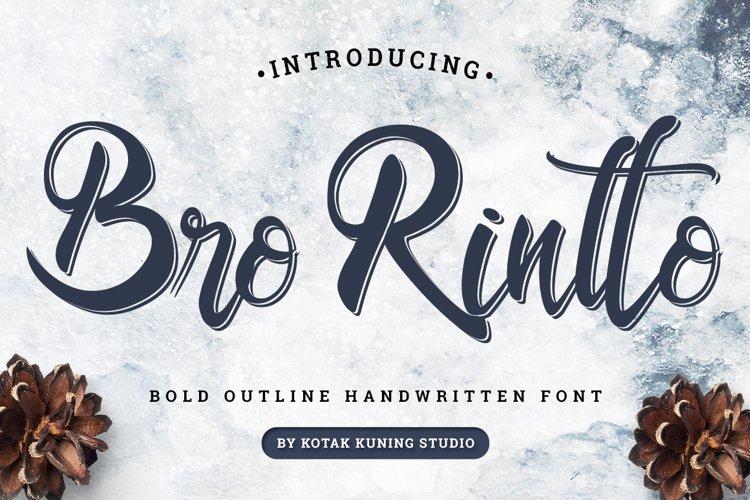 Bro Rintto example image 1