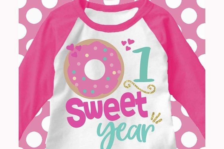 donut birthday svg, 1st birthday svg, first birthday svg