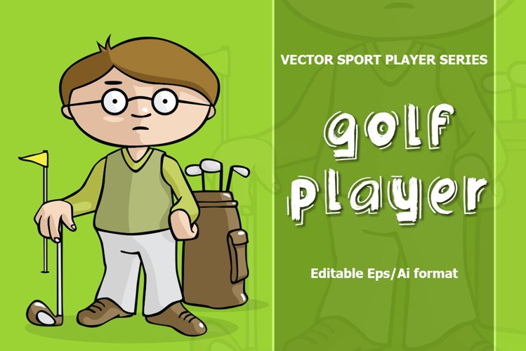 VECTOR Golf player