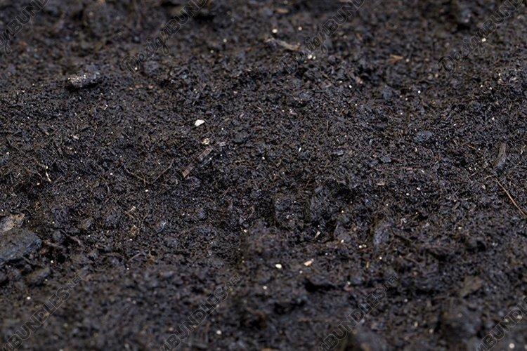 wet black earth