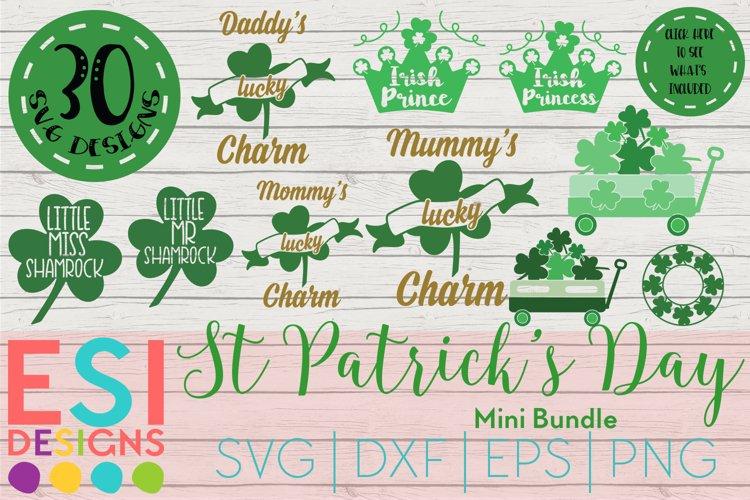 St Patrick's Day SVG Bundle | SVG DXF EPS PNG example image 1
