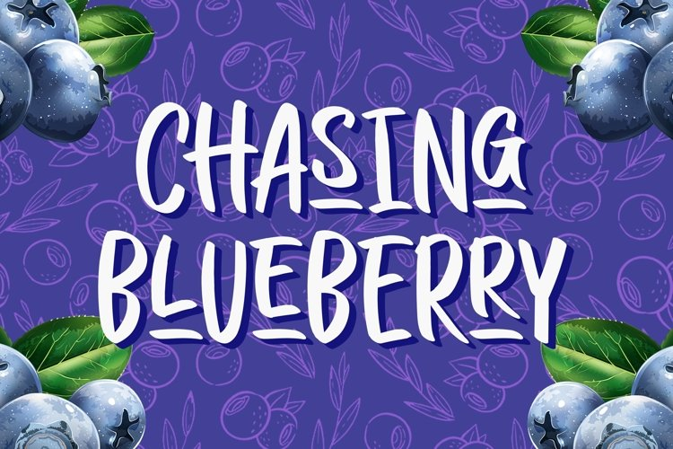 Chasing Blueberry example image 1