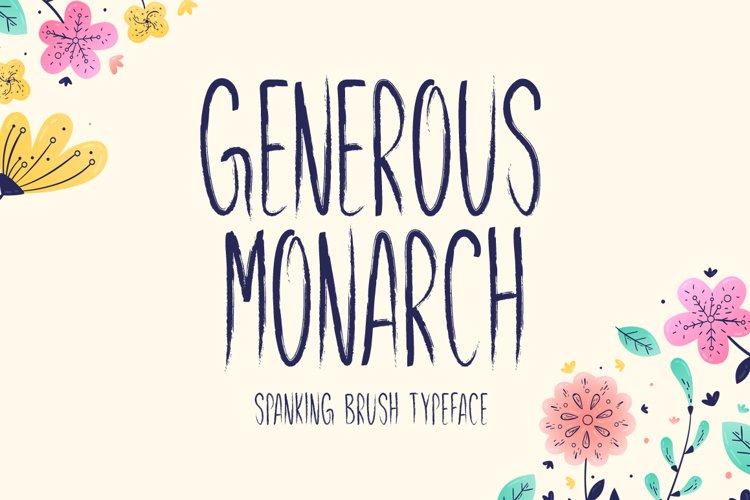 Generous Monarch example image 1