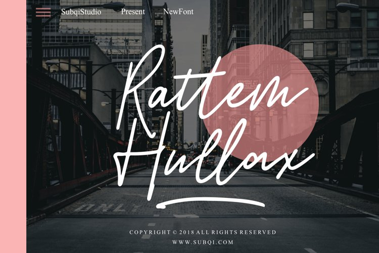 Rattem Hullax example image 1