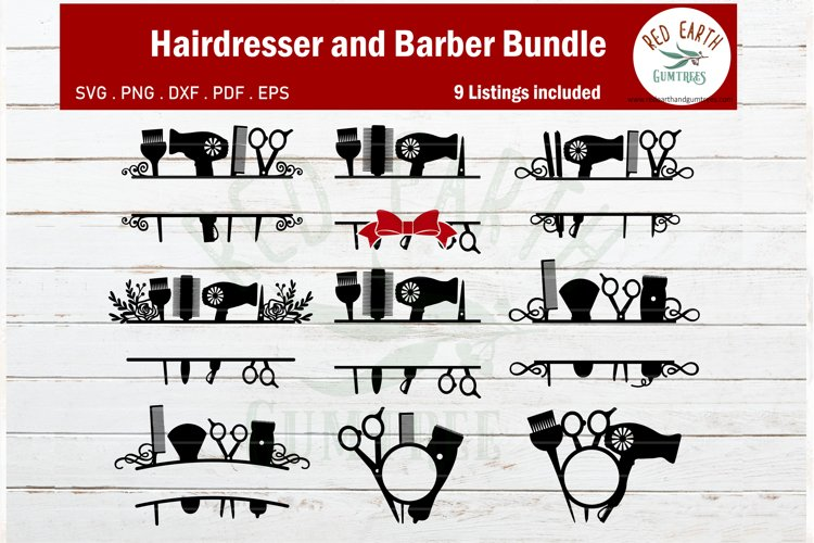 Download Hairdresser Monogram Svg Barber Monogram Hairstylist Monogra 434619 Cut Files Design Bundles