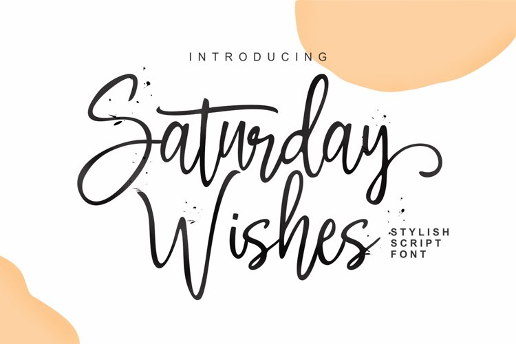 Saturday Wishes example image 1