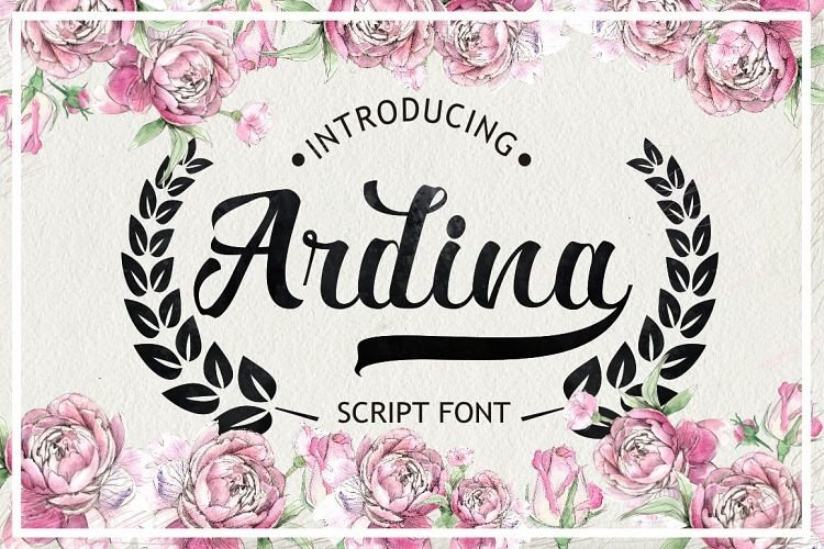 Ardina Script example image 1