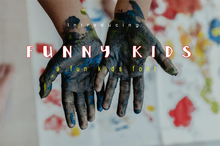Funny Kids Font example image 1