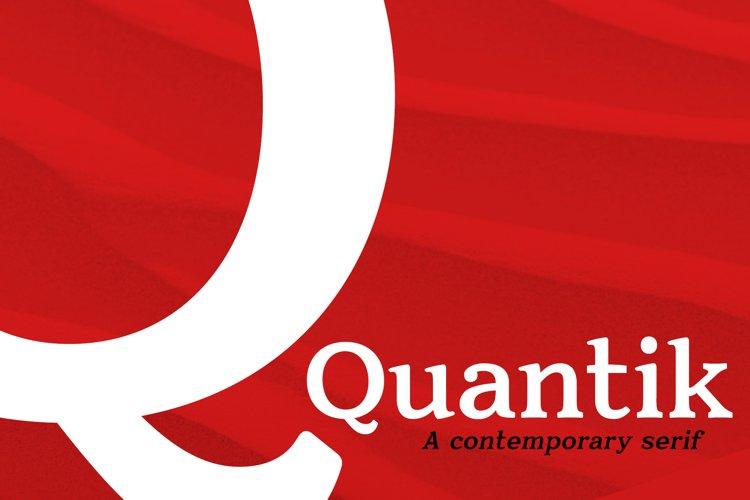Modern Serif Font | Quantik