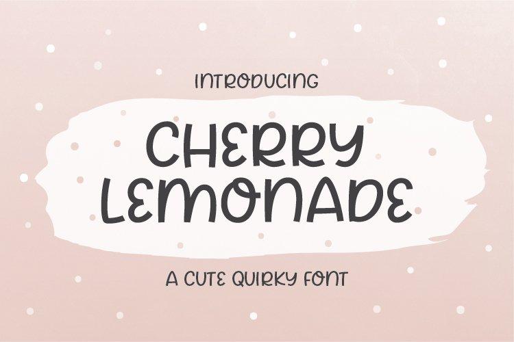 Cherry Lemonade example image 1