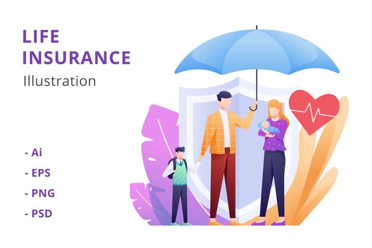 Life Insurance Illustration