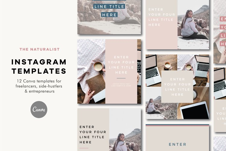 Instagram Templates | The Naturalist example image 1