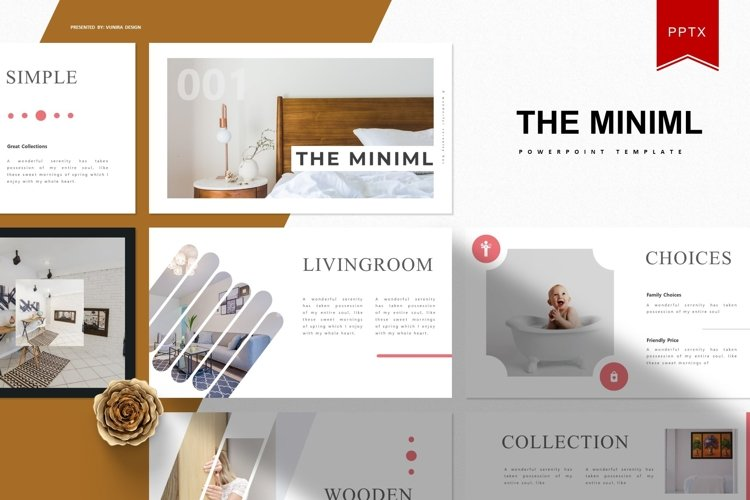 The Miniml | Powerpoint Template example image 1