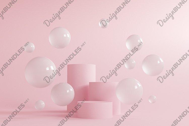 Abstract background, mock up scene geometry shape podium example image 1