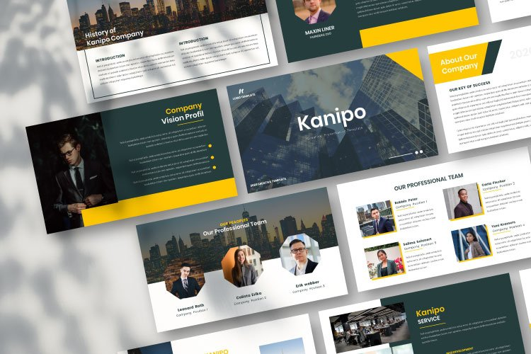 Kanipo-Business Keynote Template example image 1