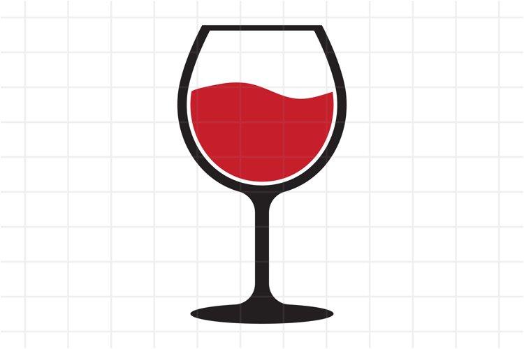 Wine SVG, Wine Glass SVG cut file