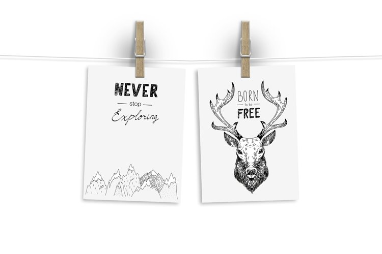 Wild Forest graphic pack - Free Design of The Week Design5