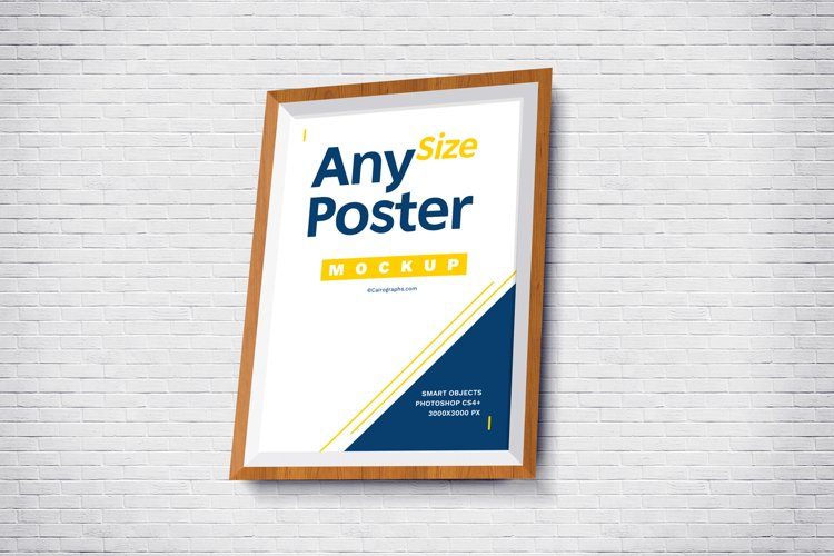 Posters Frames Mockups example 1