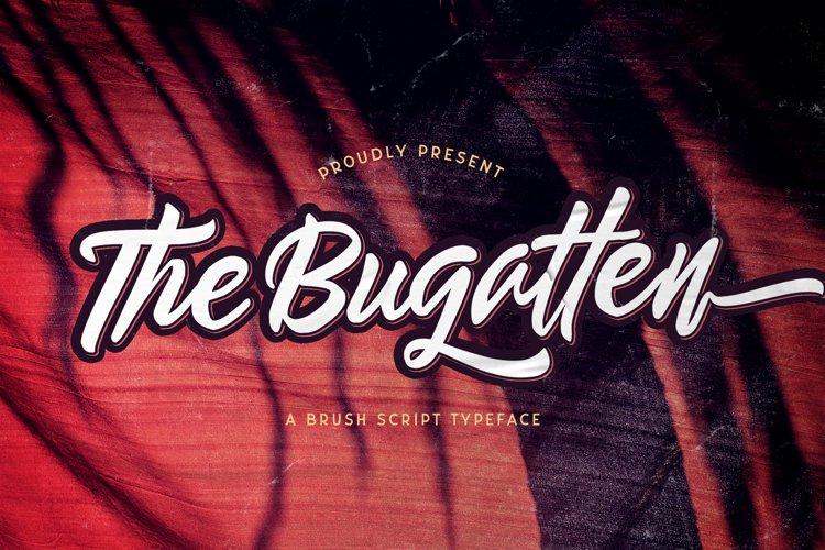 The Bugatten - Bold Script Font example image 1
