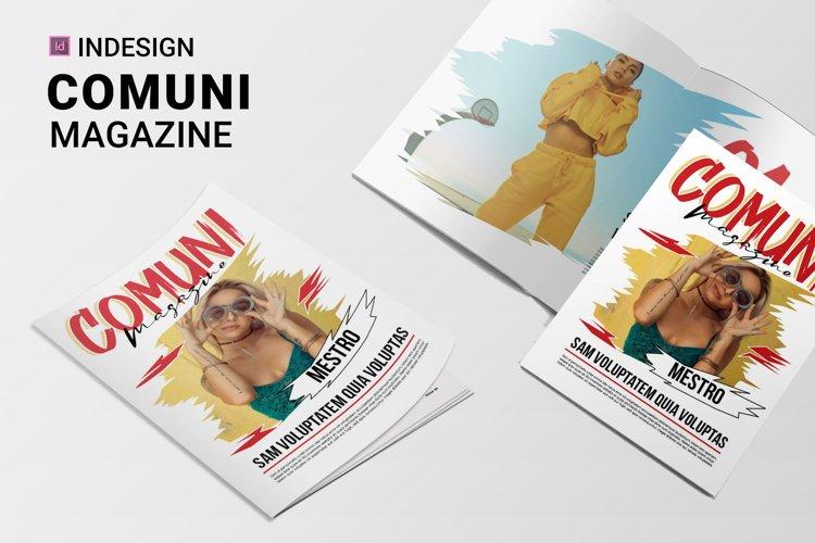 Comuni | Magazine example image 1