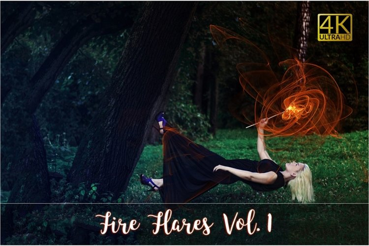 4K Fire Flares Vol. 1 example image 1