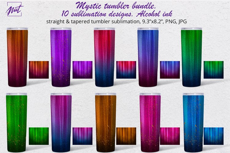 Tumbler sublimation | Tumbler design ideas|Mystical