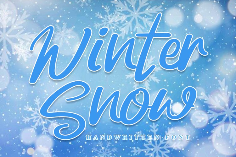Winter Snow example image 1