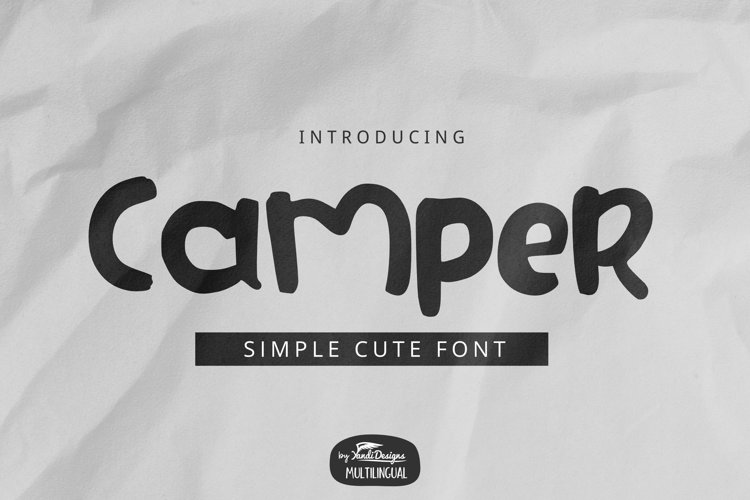 Camper Font example image 1