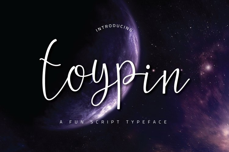 Toypin Typeface example image 1