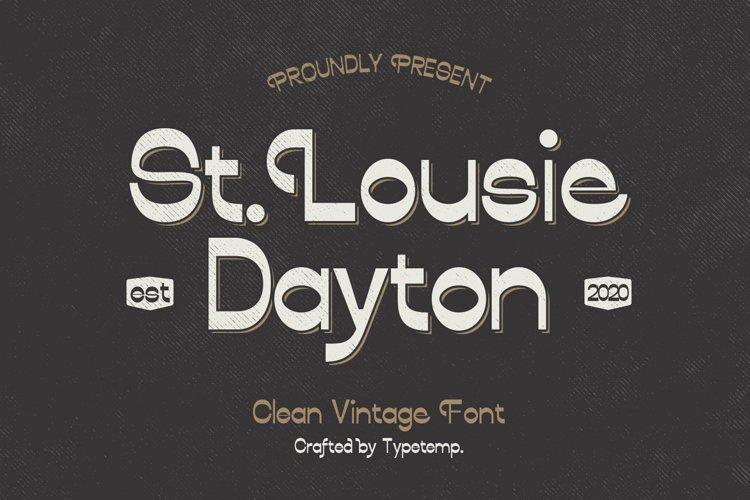 Louise Dayton Display Font example image 1