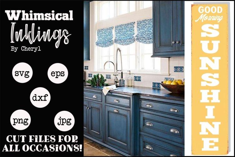 Morning Sunshine-Vertical Kitchen SVG example image 1