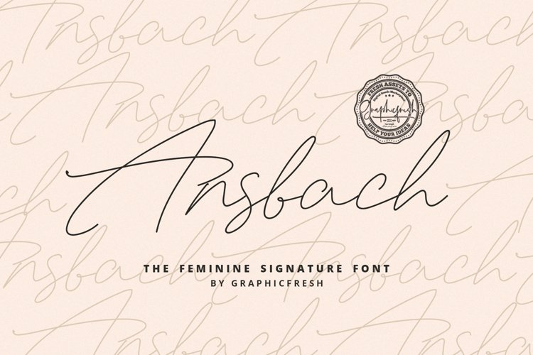 Ansbach | The Feminine Signature example image 1