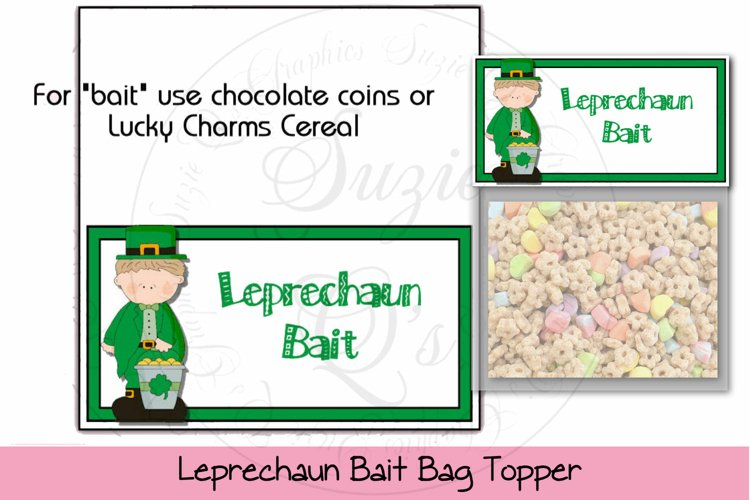 Leprechaun Bait Bag Topper example image 1