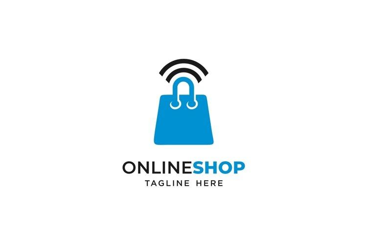 Online shop logo icon example image 1