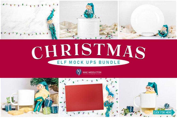 Christmas Mockups Bundle II