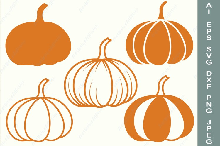 Pumpkin svg, Hello fall svg, Pumpkin patch svg, Monogram svg example image 1