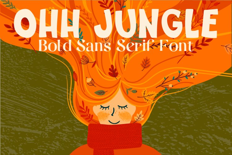 Ohh Jungle Font example image 1