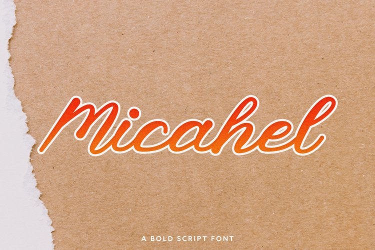 Micahel Script Bold example image 1