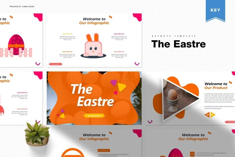 The Eastre | Powerpoint, Keynote, GoogleSlides Template example image 1