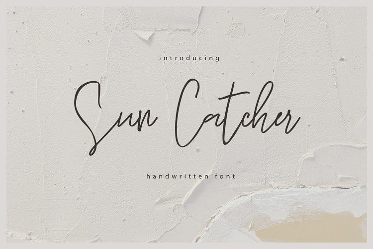 Sun Catcher | Multilingual Handwritten Script Font example image 1