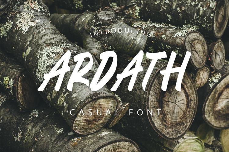 ARDATH Font example image 1
