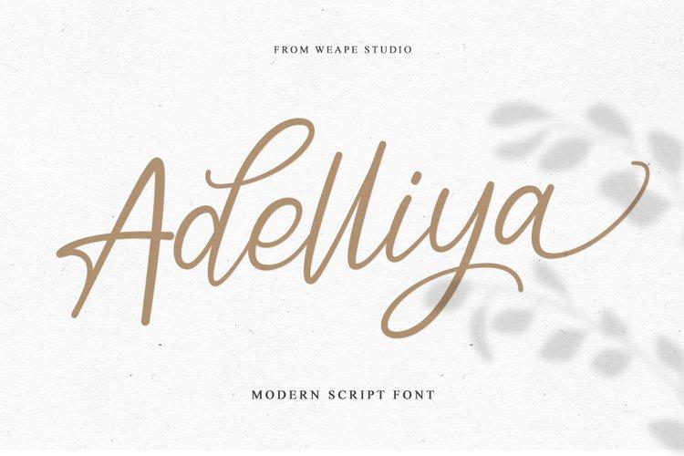 Adelliya Script example image 1