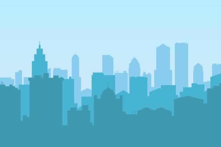 downtown area vector design illustration