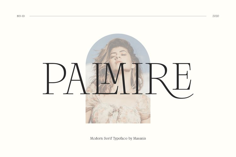 Palmire - Elegant Ligature Serif example image 1