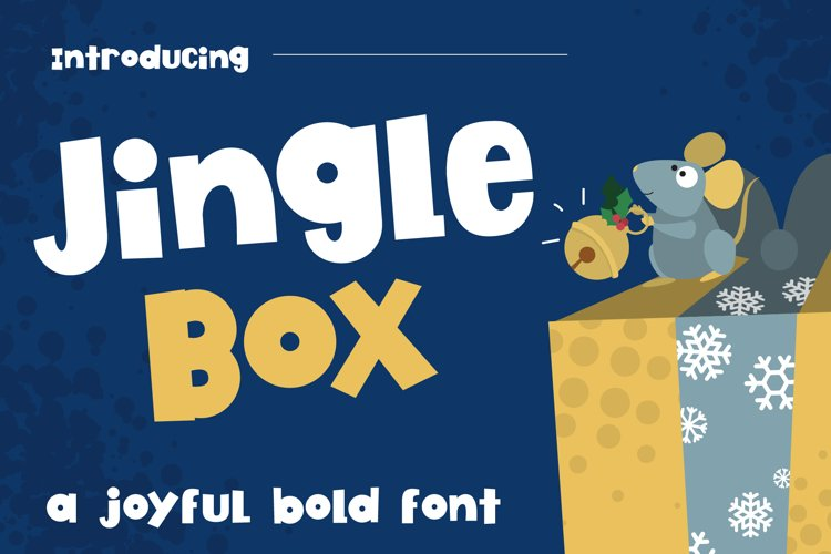 Jingle Box Bold Font example image 1