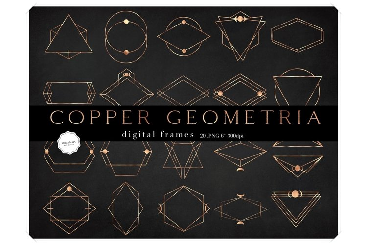 Geometric Frames Clipart - Gopper Digital Frames