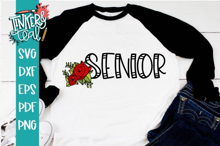 Senior Rose SVG example image 1