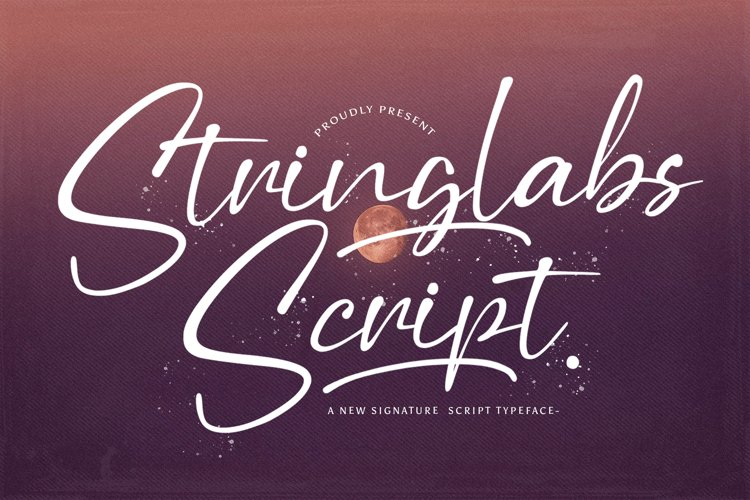 Stringlabs Script - Handwritten Font example image 1