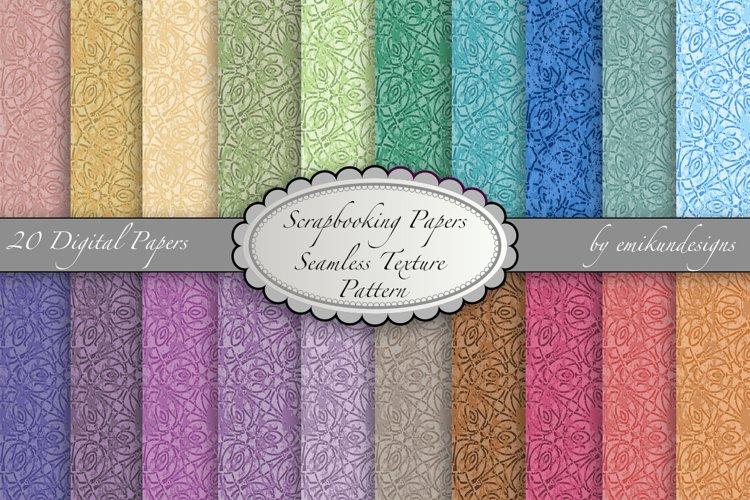 Texture Scrapbook Paper Pattern